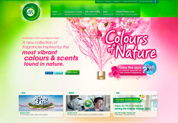 Sites e blogs feitos com o layout seguindo elementos da natureza e eco sustentabilidade (3)