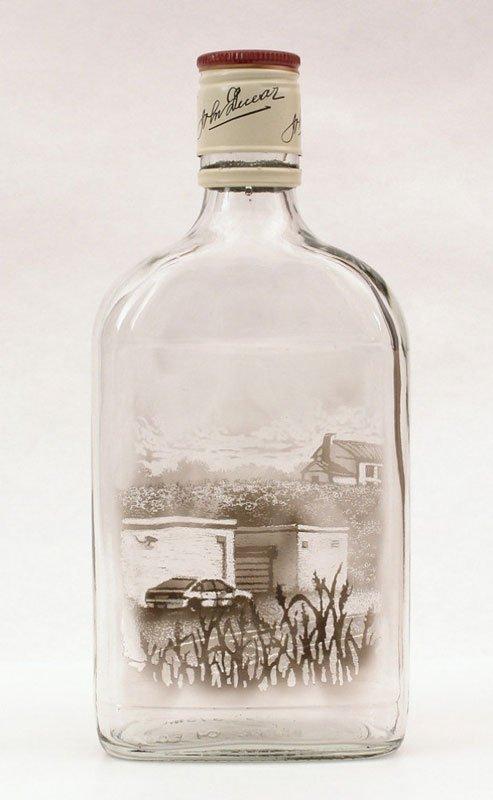 Desenhos feitos dentro de garrafas por Jim Dingilian (9)