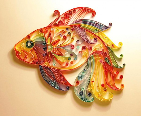 Artes feitas com papel feitas por Yulia Brodskaya (4)