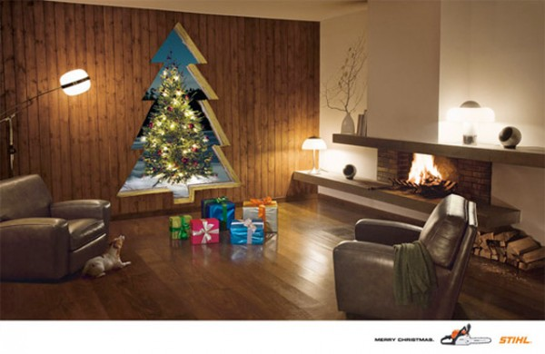 Bombe sua criatividade neste natal com estes anúncios super criativos de natal (5)