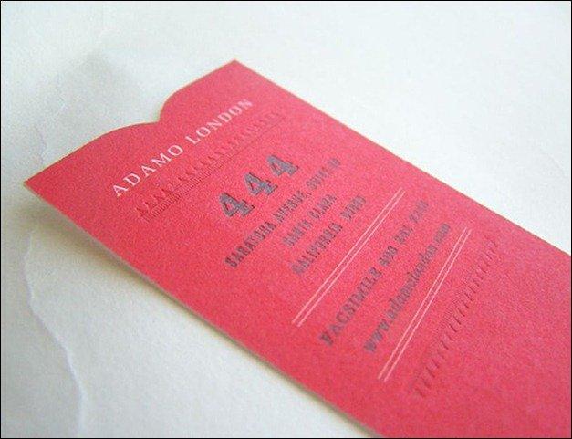 Cartões de visitas vermelhos para te inspirar em 2013 (2)